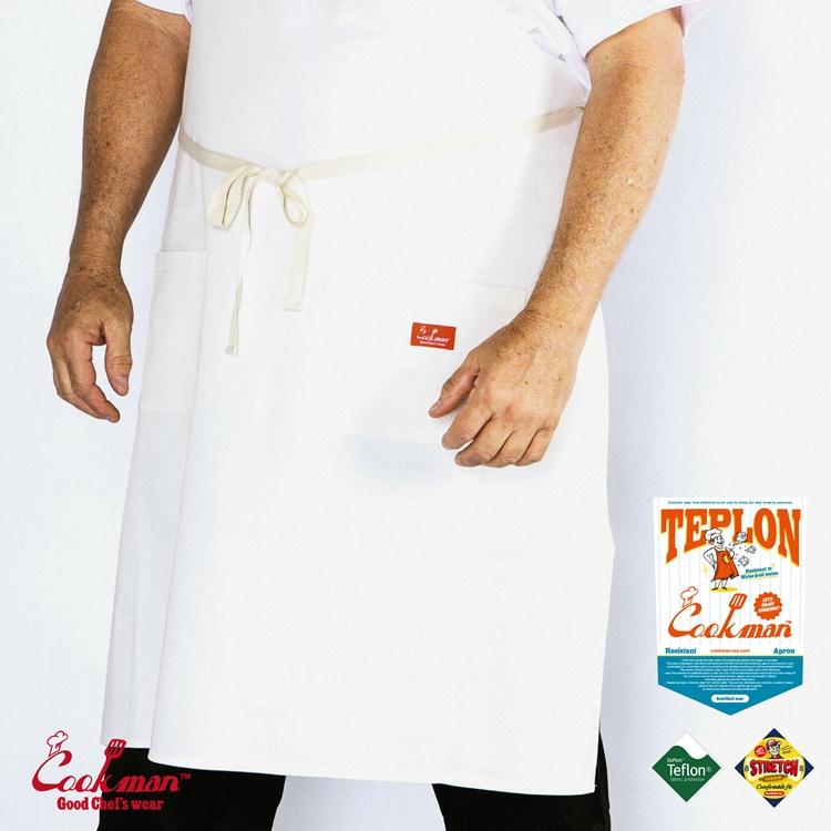ロングエプロン Teplon Long White