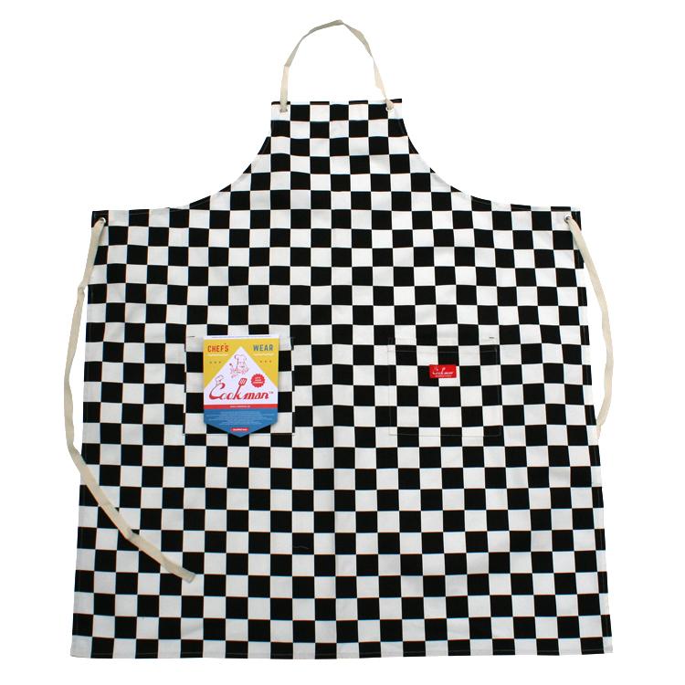 Long Apron 「Checker」