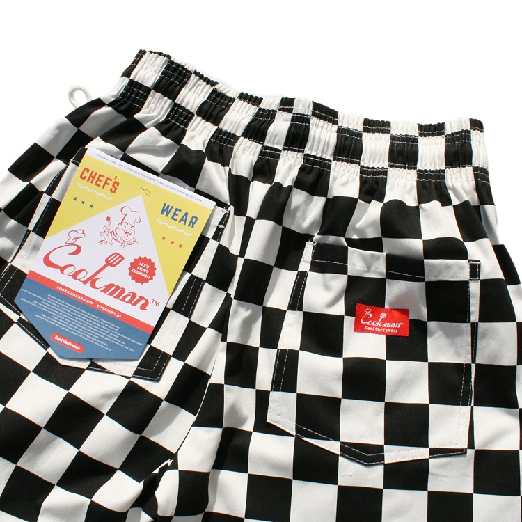 シェフパンツ Chef Pants Checker Plus Size
