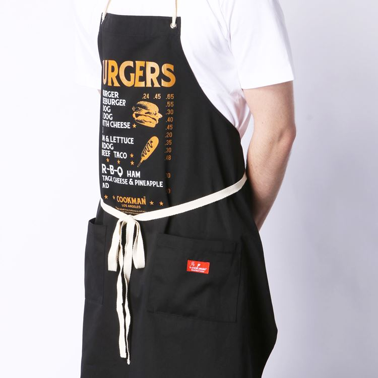 ロングエプロン Long Apron Burgers Menu