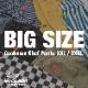 Chef Pants 「Stripe」 Black BIG SIZE