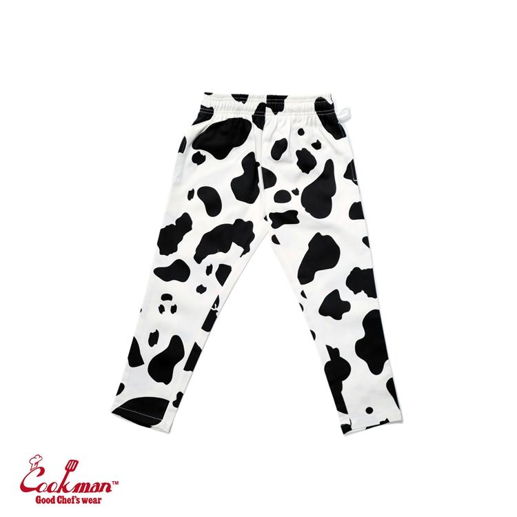 シェフパンツ Chef Pants Cow Kids Size