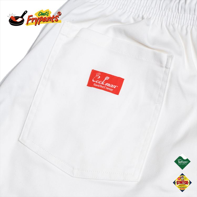 シェフパンツ Chef's Frypants White