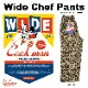 ワイドシェフパンツ Wide Chef Pants Leopard