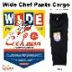 ワイドシェフパンツ Wide Chef Pants Cargo Black