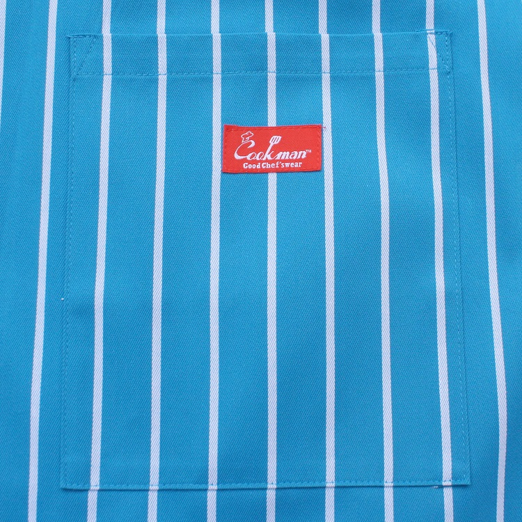 Waist Apron 「Stripe」 L/Blue