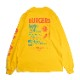 Long sleeve T-shirts  「Burgers Menu」