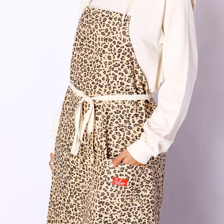 Long Apron 「Leopard」