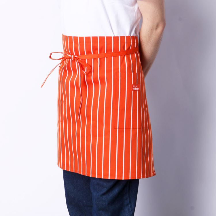 Waist Apron 「Stripe」 Orange