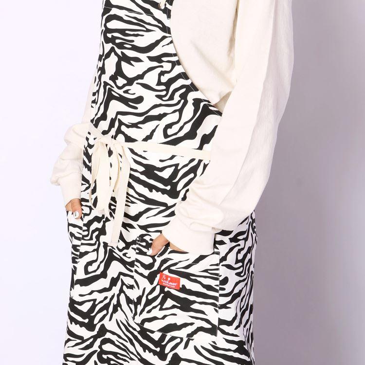 Long Apron 「Zebra」
