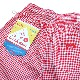 Chef Short Pants 「Gingham」 Red