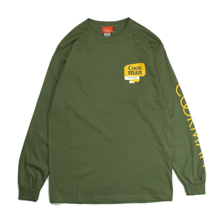 Long sleeve T-shirts  「Tape Logo」