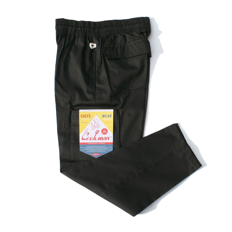 Chef Cargo Pants 「Black」
