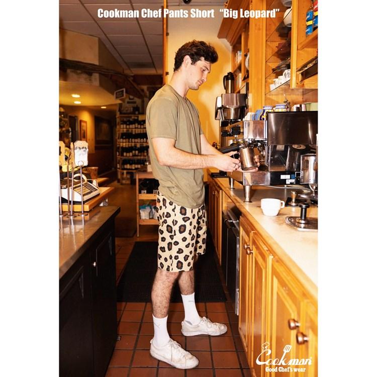 Chef Short Pants 「Big Leopard」