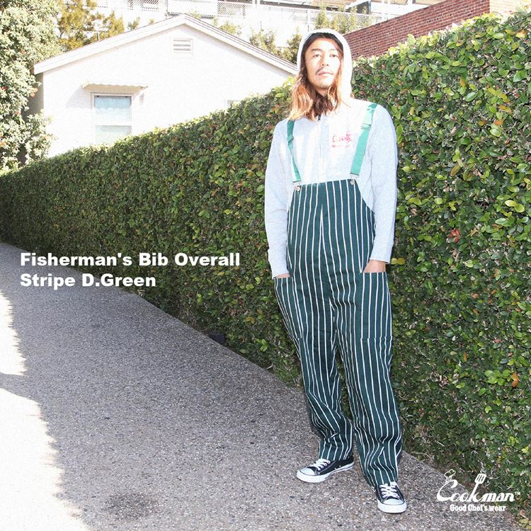 Fisherman's Bib Overall 「Dark Green」