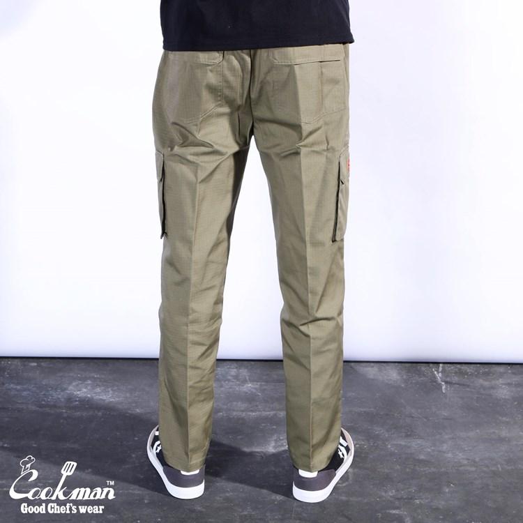 シェフパンツ Chef Pants Cargo Ripstop Khaki