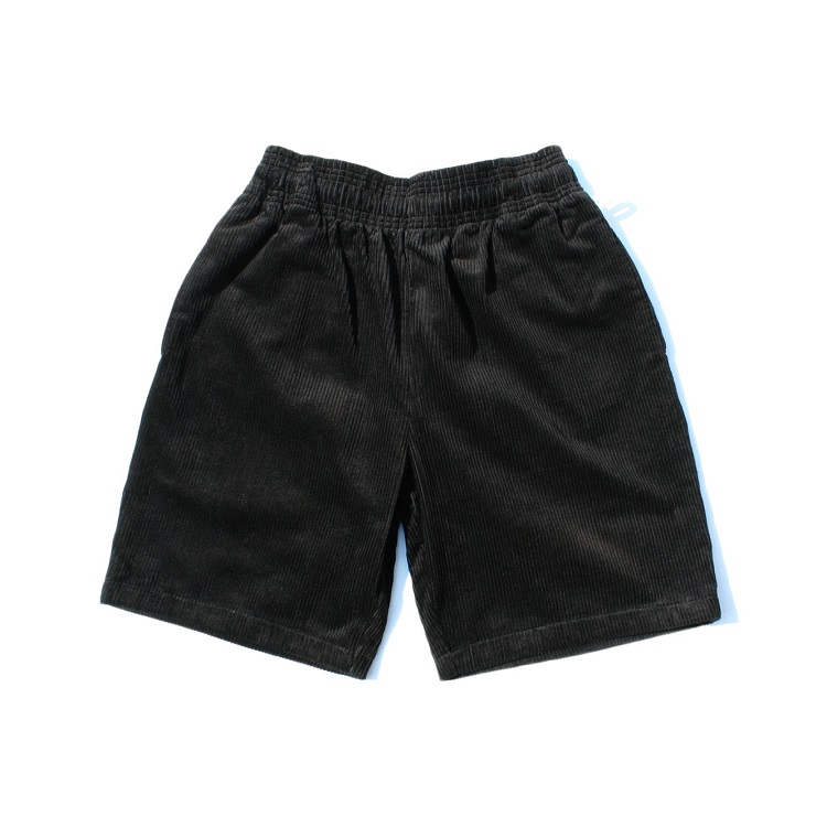 シェフパンツ Chef Pants Short Corduroy Black