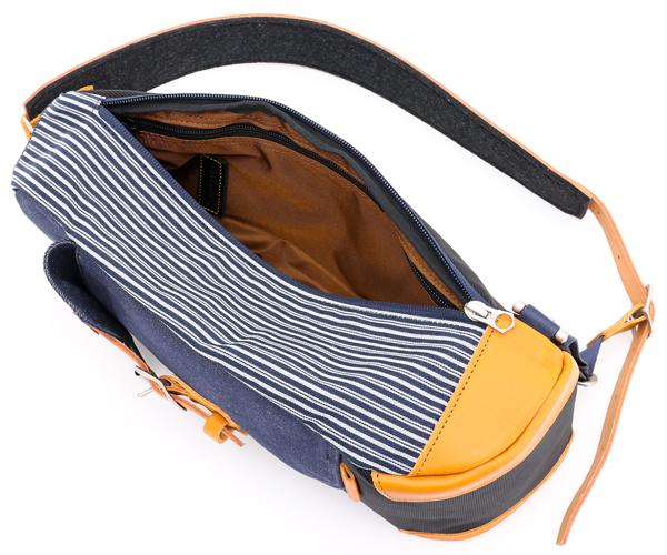 【選べるノベルティ付】 master-piece マスターピース エバー スリングバッグ(カラー:ネイビー) 24257-v4