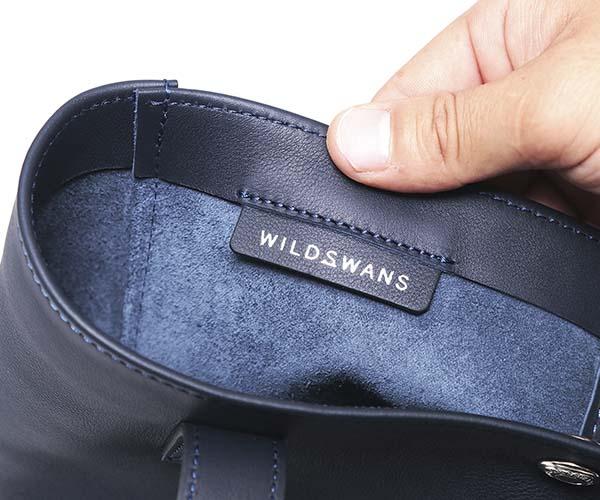 【選べるノベルティ付】ワイルドスワンズ モンパルナス リベロ トートバッグ(カラー:ネイビー)MONTPARNASSE LIBERO WILD SWANS