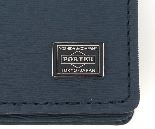 【選べるノベルティ付】 ポーター カレント カードケース (カラー:ネイビー) 052-02207 吉田カバン PORTER
