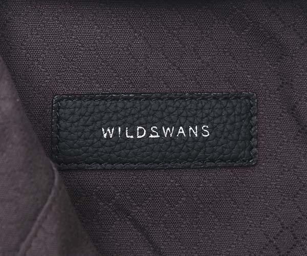 【選べるノベルティ付】ワイルドスワンズ ソロン 2WAYショルダーバッグ(カラー:ブラック)SOLON WILD SWANS