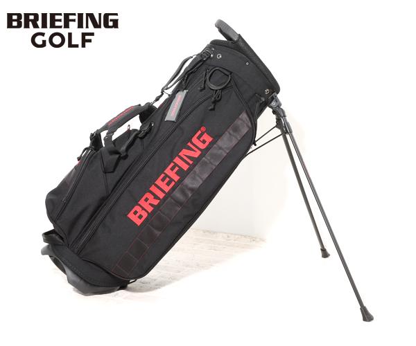 【選べるノベルティ付】 ブリーフィング BRIEFING ゴルフ/キャディバッグ CR-4 #02(カラー:ブラック)BRG203D21