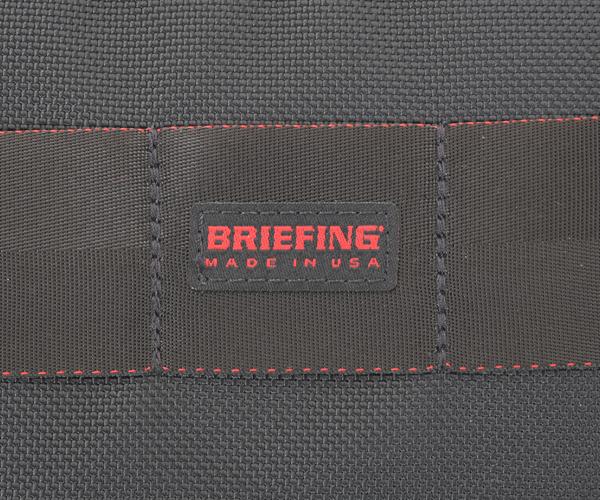 【選べるノベルティ付】ブリーフィング BRIEFING ミニウォレット SHORT WALLET(カラー:ブラック)BRM181601