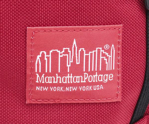 Manhattan Portage マンハッタンポーテージ ウエストバッグ(カラー:レッド)mp1101