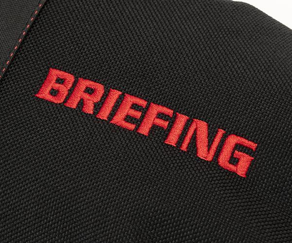 【選べるノベルティ付】ブリーフィング BRIEFING ゴルフ ヘッドカバー B SERIES DRIVER COVER(カラー:ブラック)BG1732503
