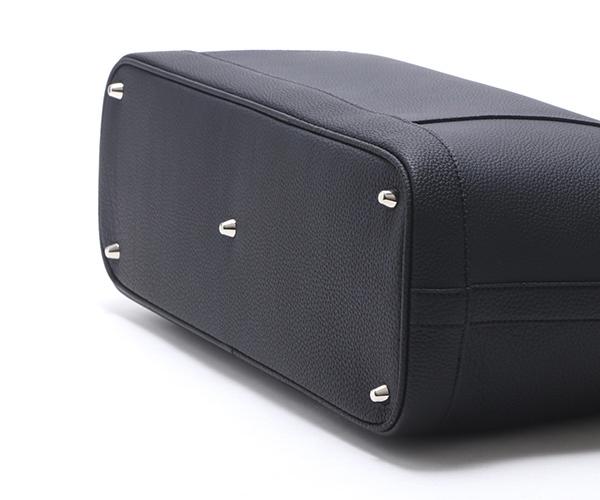 【選べるノベルティ付】ワイルドスワンズ シュランケンカーフ ドラッカー トートバッグ(カラー:ブラック)SHRUNKEN CALF DRUCKER WILD SWANS