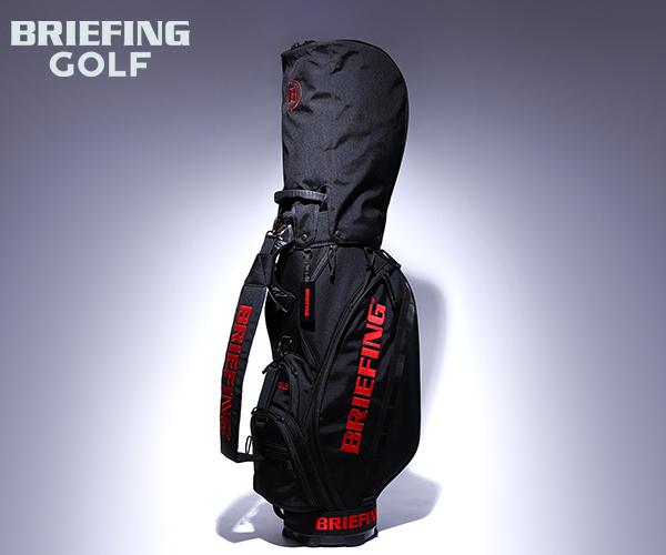 【選べるノベルティ付】 ブリーフィング BRIEFING ゴルフ/キャディバッグ CR-5 #02(カラー:ブラック)BRG201D01