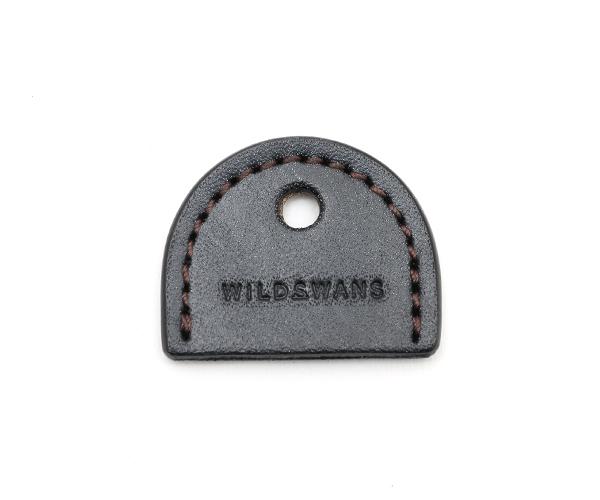 【選べるノベルティ付】ワイルドスワンズ フルグレインブライドル ブランチ キーホルダー(カラー:ブラック) FULL GRAIN BRIDLE WILD SWANS