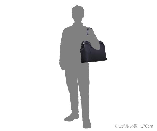 【選べるノベルティ付】ワイルドスワンズ シュランケンカーフ ドラッカー トートバッグ(カラー:ネイビー)SHRUNKEN CALF DRUCKER WILD SWANS