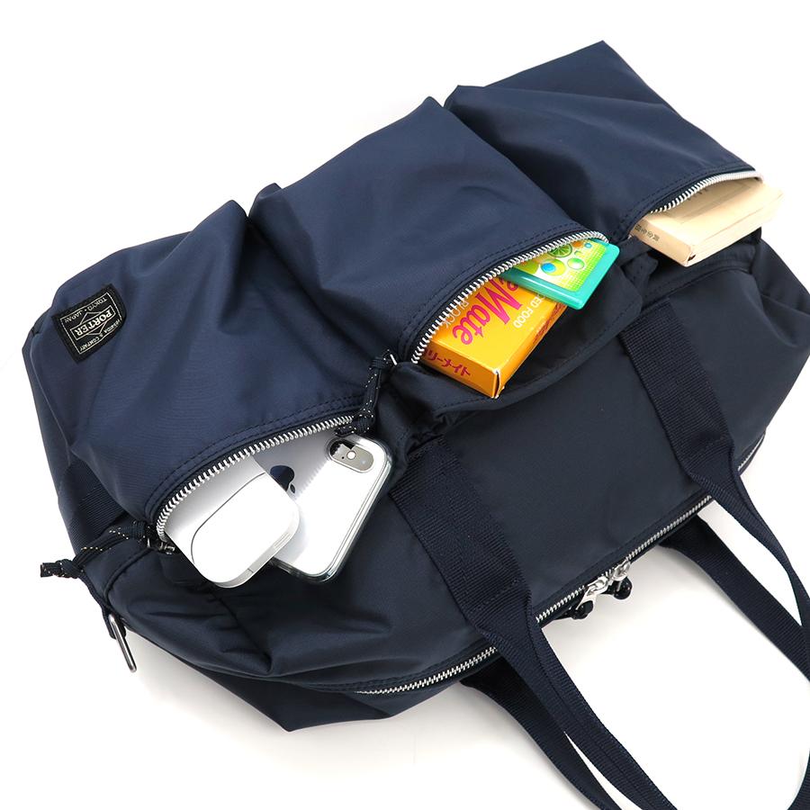 【選べるノベルティ付】ポーター フォース ダッフルバッグ S (カラー:ネイビー) 855-05455 吉田カバン PORTER