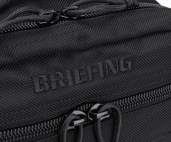 【選べるノベルティ付】 ブリーフィング BRIEFING 2WAYバックパック PG STREAM(カラー:ブラック)BRM203B04