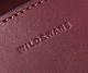 【選べるノベルティ付】ワイルドスワンズ イングリッシュブライドル ウェイブ 長財布(カラー:バーガンディ) ENGLISH BRIDLE WAVE WILD SWANS