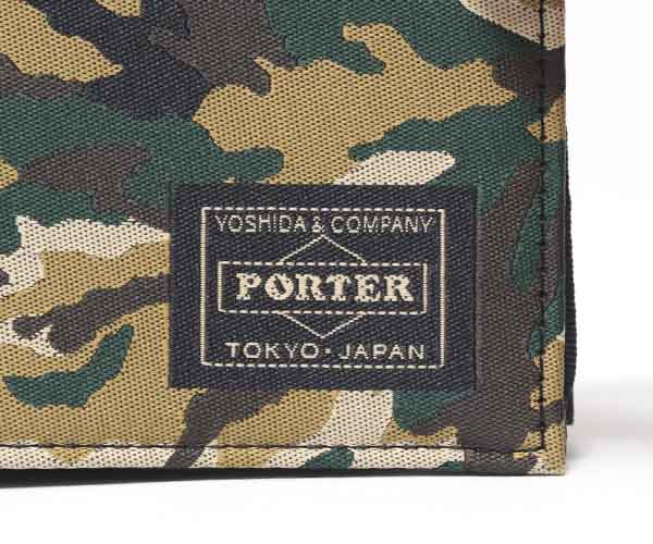 【選べるノベルティ付】ポーター ギリー カードケース(カラー:ウッドランドカモ)886-16147 吉田カバン PORTER