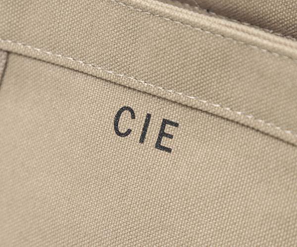 【選べるノベルティ付】 CIE シー ダックキャンバス トート トートバッグM (カラー:サンド) 041801