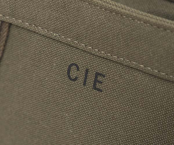 【選べるノベルティ付】 CIE シー ダックキャンバス トート トートバッグM (カラー:オリーブ) 041801