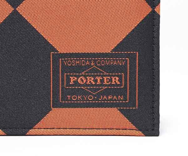 【選べるノベルティ付】ポーター ギリー カードケース(カラー:ダイヤモンドシェイプ)886-16147 吉田カバン PORTER
