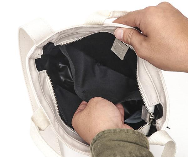 【選べるノベルティ付】 CIE シー ダックキャンバス トート トートバッグS (カラー:ホワイト) 041802