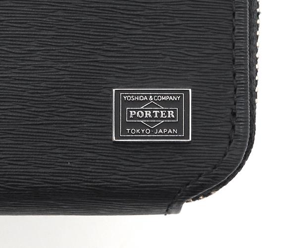 【選べるノベルティ付】 ポーター カレント コイン&パスケース (カラー:ブラック) 052-02212 吉田カバン PORTER