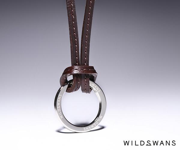 ワイルドスワンズ サドルプルアップ レガーレ レザーストラップ(カラー:チョコ) SADDLE PULL UP WILD SWANS