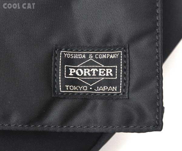 【選べるノベルティ付】 ポーター タンカー 2WAY ショルダーバッグ 622-69320 ブラック 吉田カバン PORTER