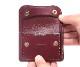【選べるノベルティ付】ワイルドスワンズ イングリッシュブライドル タング コインケース(カラー:バーガンディ) ENGLISH BRIDLE WILD SWANS