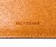 【選べるノベルティ付】ワイルドスワンズ フルグレインブライドル ミニマル マネークリップ(カラー:ロンドンカラー) FULL GRAIN BRIDLE WILD SWANS