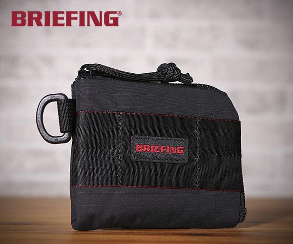ブリーフィング BRIEFING コインパース COIN PURSE MW(カラー:ブラック)BRM191A35
