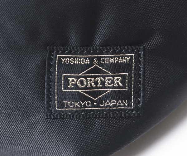 【選べるノベルティ付】 ポーター タンカー ウエストバッグL(カラー:ブラック)622-66628 吉田カバン PORTER