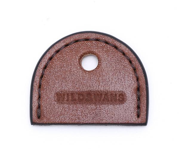 【選べるノベルティ付】ワイルドスワンズ フルグレインブライドル ブランチ キーホルダー(カラー:ダークステイン) FULL GRAIN BRIDLE WILD SWANS