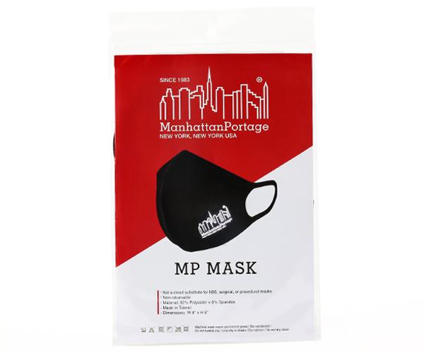 Manhattan Portage マンハッタンポーテージ マスク(カラー:ブラック)mp-mask